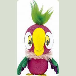Игрушка-брелок Попугай Кеша