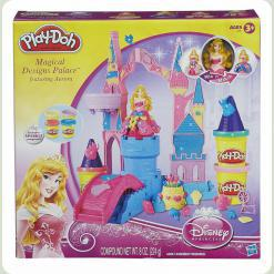 """Плей До. Игровой набор """"Чудесный замок Авроры"""""""