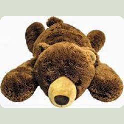 Плюшевый мишка Медведь лежачий 81 cм