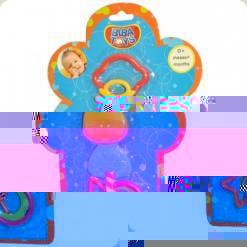 Погремушка-прорезыватель Biba Toys Коровка (098PP)