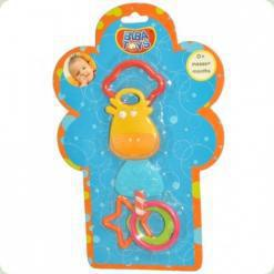 Погремушка-прорезыватель Biba Toys Котенок (097PP)