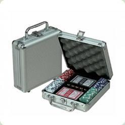 Покерный набор 100 фишек по 11,5 г (алюминиевый кейс)