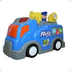 Полицейская машина Keenway и полицейский (12672)