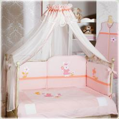 Постельный комплект Feretti Sestetto Long Lapin Rabbit Pink