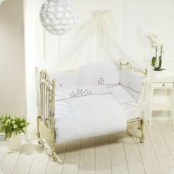 Постельный комплект Feretti Sestetto Long Vintage Flower White