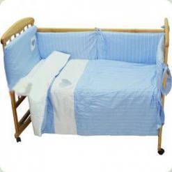 Постельный комплект Nino Cuoricini Blue