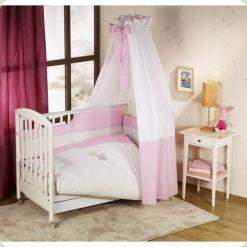 Постельный комплект Nino Elefante Pink