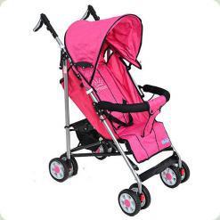 Прогулочная коляска Bambi Aria S1-4 Розовая