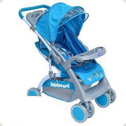 Прогулочная коляска Bambini Mars с чехлом Blue Pirate