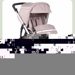Прогулочная коляска (сплошная ручка) TRILOGY - J.F. Ecru