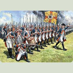 Прусские гренадеры Фридриха Великого