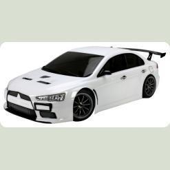 Радиоуправляемая Шоссейная 1:10 Team Magic E4JR Mitsubishi Evolution X (белый)