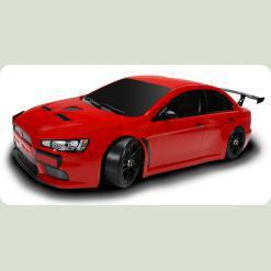 Радиоуправляемая Шоссейная 1:10 Team Magic E4JR Mitsubishi Evolution X (красный)