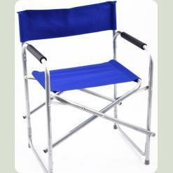 Раскладной стул Stenson для рыбалки OS-1823 Голубой