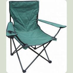 Раскладной стул Stenson Паук с подстаканником OS-1824 Зеленый