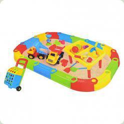 Разборная песочница с игрушками Bambi M 2155