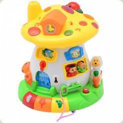 Развивающая игрушка Bambi 2208 Грибок-теремок