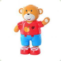Развивающая игрушка Bambi Мишка учится одеваться (7499)