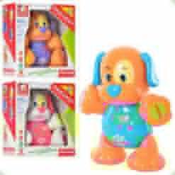 Развивающая игрушка Bambi Собака Фиолетовый (00641940-39-37)
