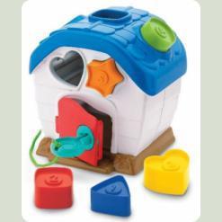 Развивающая игрушка Keenway Домик-сортер (31251)