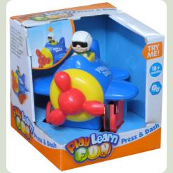 Развивающая игрушка Keenway Нажми и Догони Вертолет (32652)