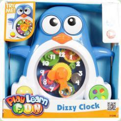 Развивающая игрушка Keenway Пингвин-часы (31349)