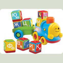 """Развивающая игрушка """"Поезд - алфавит"""" (от 12 мес)"""