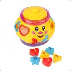 Развивающая игрушка Tongde 699736 R/2056 Музыкальный горшочек