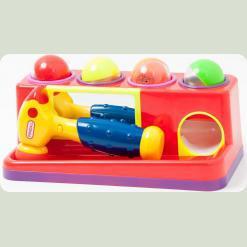 Развивающая игрушка «Веселый молоточек»