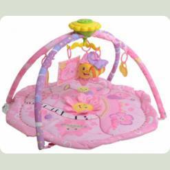 Развивающий коврик Bambi M 1557 Розовый
