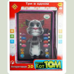 Развивающий планшет Bambi Кот Том 3D (DB 6883 A 2)