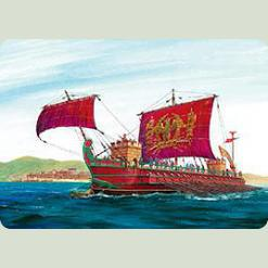 Римская императорская трирема