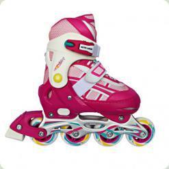 Ролики Amigo Ice-Combo со сменной ледовой платформой XS (28-31) Розовый