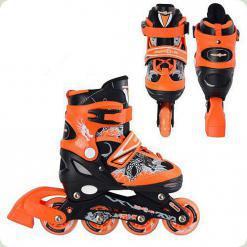 Ролики Profi Roller A 6045 S (31-34) Orange