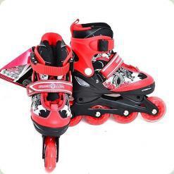 Ролики Profi Roller A 6045 S (31-34) Red