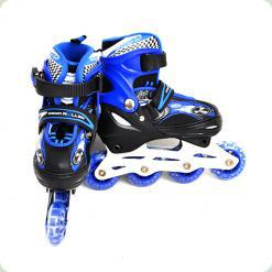 Ролики Profi Roller Голубой размер 30-33 (A 5034 S)