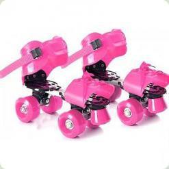 Ролики Profi Roller MS 0037 Розовый