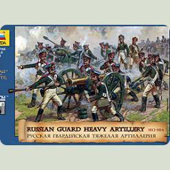 Русская гвардейская тяжёлая артиллерия 1812гг