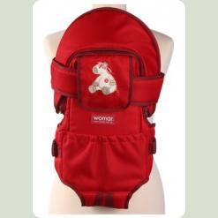 Рюкзак-переноска Womar №8 Exclusive Красный (21015)