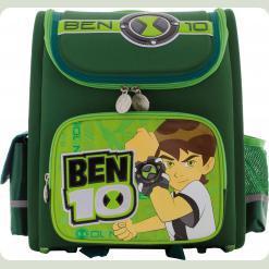 """Рюкзак школьный """"Бен-10"""" тёмно-зелёный"""
