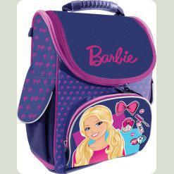 """Рюкзак школьный ортопедический каркасный """"Barbie"""""""