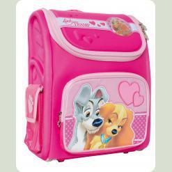 Рюкзак школьный ортопедический розовый