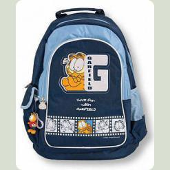 Рюкзак школьный темно-синий GF твёрдая спина