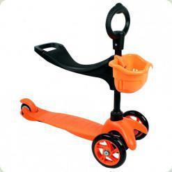 Самокат Ecoline Saddler Оранжевый