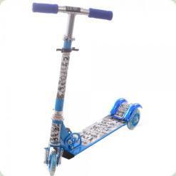 Самокат Profi Trike BB 3-009-1 Стиль Голубой