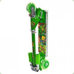 Самокат Profi Trike SC 3-5 Зеленый Черепашки Ниндзя