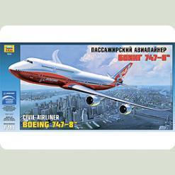 """Самолет """"Боинг 747-8"""""""