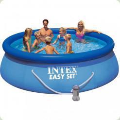 Семейный бассейн Intex 28146 Easy Set 366x91 см с фильтр-насосом