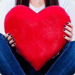 Сердце №3, 37см