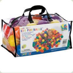 Шарики для сухого бассейна Intex Fun Ballz 65 мм (49602)